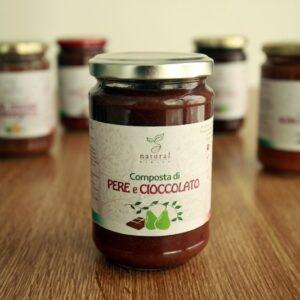 Composta di pere e cioccolato