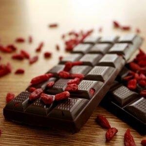 Tavoletta cioccolato fondente e bacche di Goji