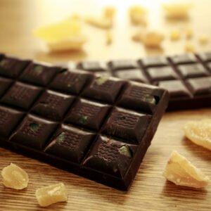 Tavoletta cioccolato fondente e zenzero