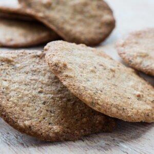 Biscotti friabili con albume e pasta di nocciole Piemonte IGP